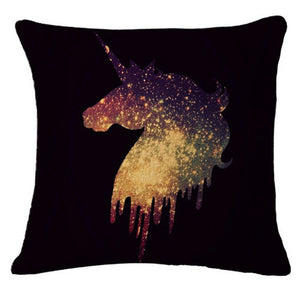 Funny Unicorn Pillow Case