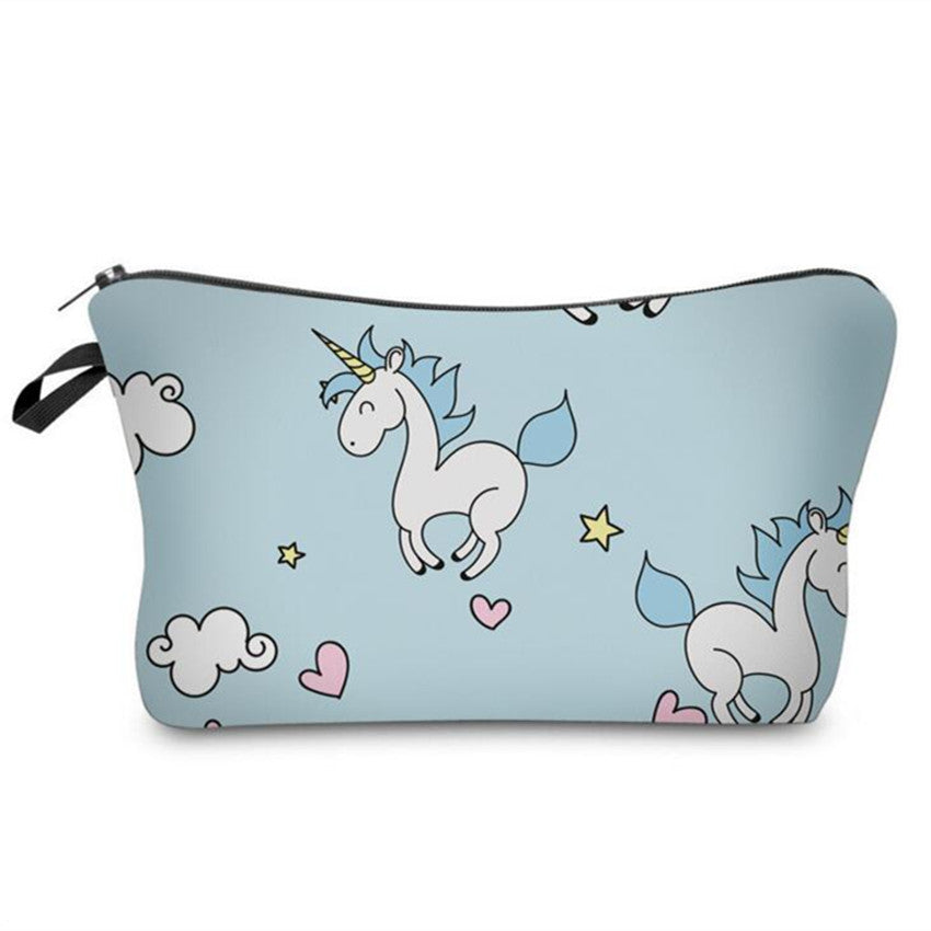 Unicorn Cosmetic Utility Bag
