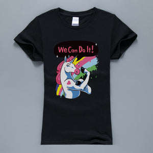 Unicorn360™  We Can Do It T-Shirt