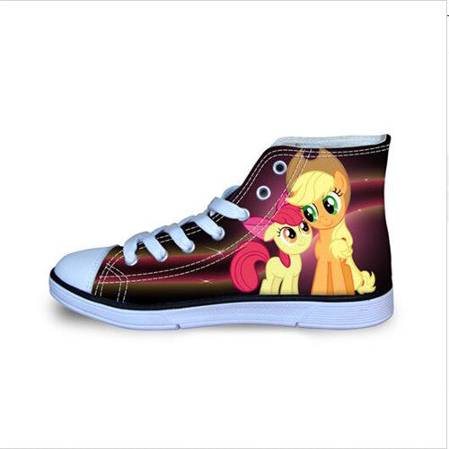 Quality Unicorn Horse Printing Sport Shoes Brand Sneakers Kids Girls & Boys