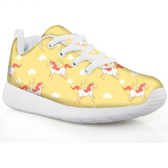 Unicorn Girls Rainbow Sneakers Sport Shoes