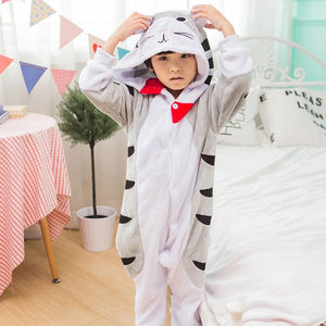 Children Pajamas Unicorn Stars Winter
