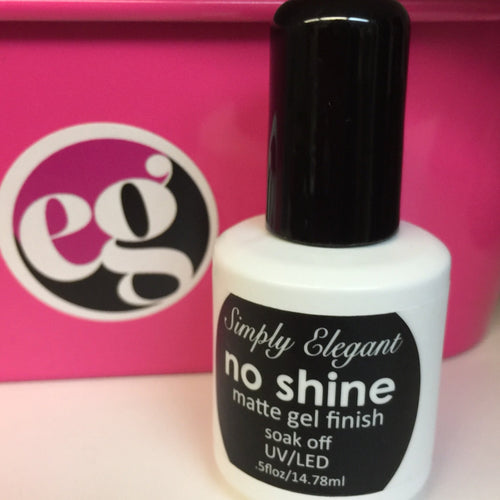 No Shine Matte Top Gel