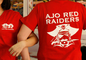 Red Raider Shirt - Variations of colors/styles