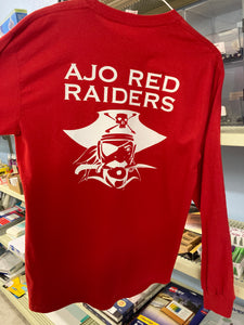 Red Raider T-Shirt - Various Sizes/Styles/Colors