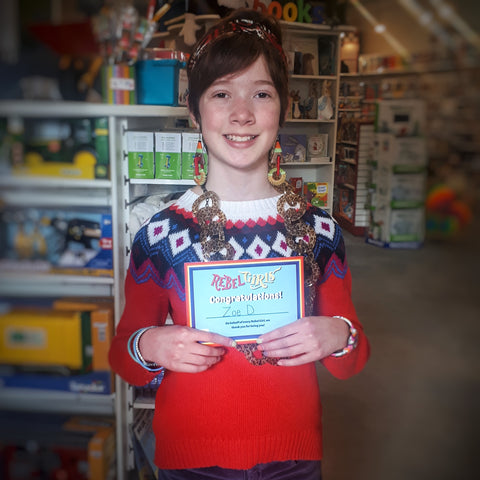 rebel girls award kingston kid toy store the rocking horse ontario zoe awesome fun kids march break international womens day 2019