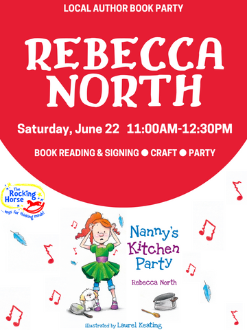 kingston author rebecca north nanny's kitchen party ontario