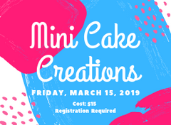 March Break Cake Decorating Kingston Ontario Canada Creations Events 2019