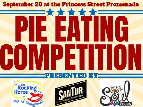 pie eating competition kingston ontario happy soul project the rocking horse santur brewing september 28 2019