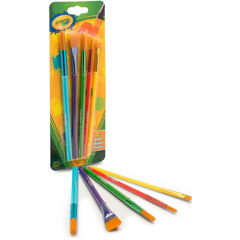 Crayola Paint Brushes 5 Pack canada