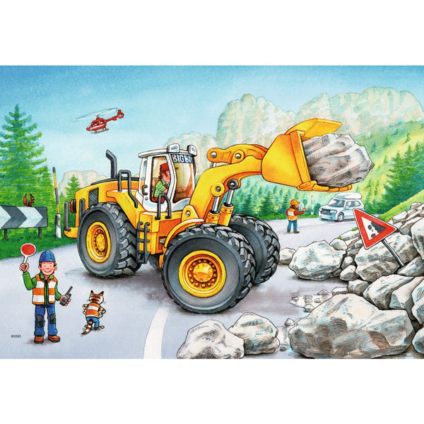 Ravensburger 2x24 Piece Puzzle Diggers at Work