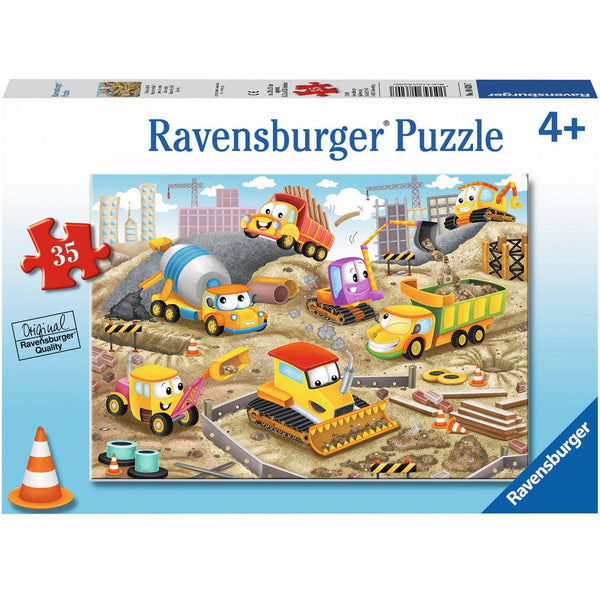 Ravensburger 35 Piece Puzzle Raise the Roof