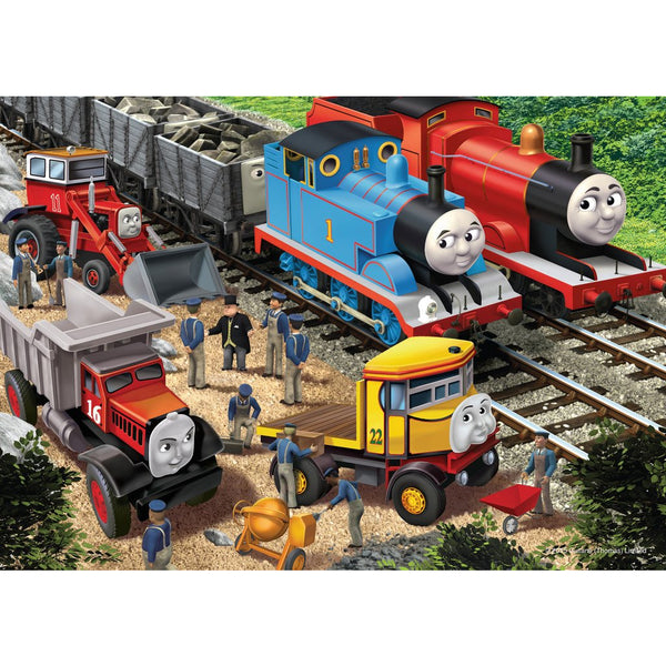 Ravensburger 35 Piece Puzzle Tin Box Thomas & Friends Making Repairs