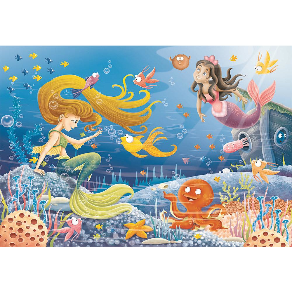Ravensburger 60 Piece Puzzle Mermaid Tales