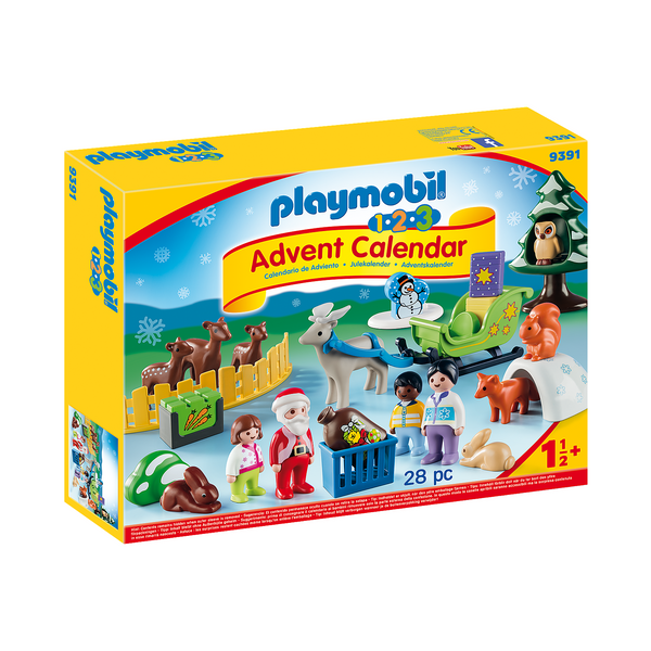 Playmobil 123 Advent Calendar Christmas in the Forest 2019 canada ontario new santa