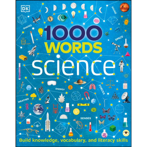 1000 Words: Science ISBN 9780744026528 canada ontario stem