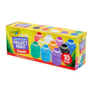 Crayola Washable Project Paint - 10 Count canada ontario