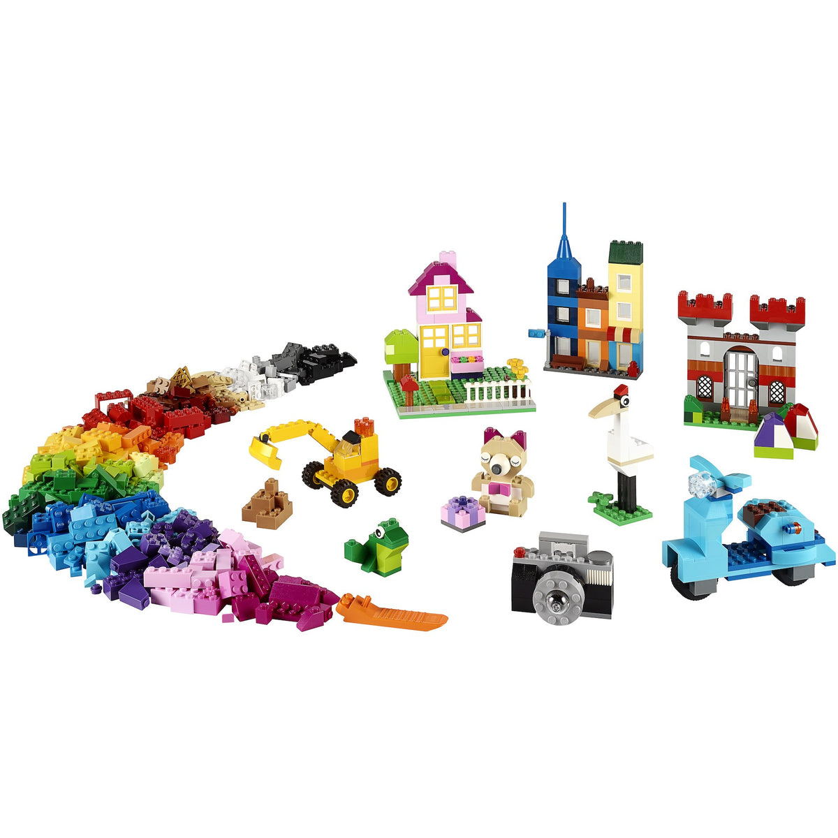 LEGO Classic Large Creative Brick Box Pieces