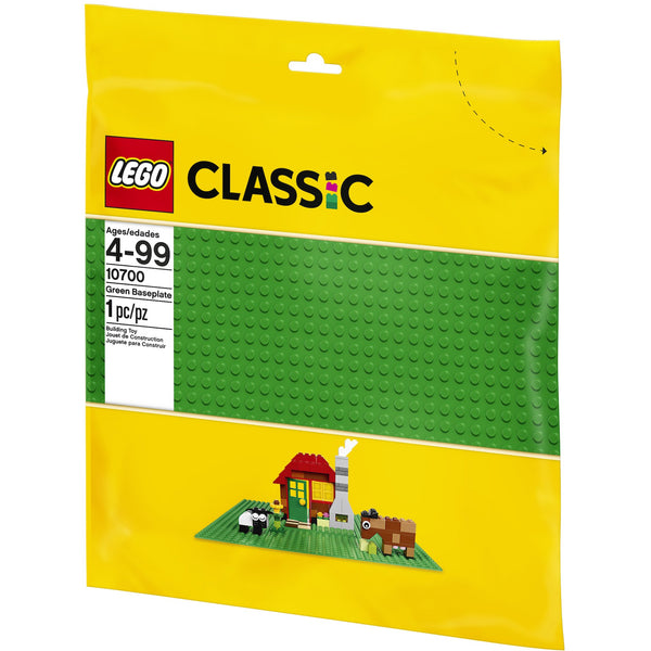 LEGO Classic Green Baseplate Package Front