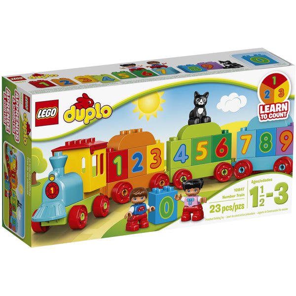 LEGO DUPLO Number Train Box Front
