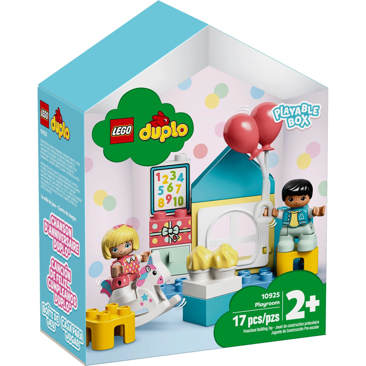 LEGO DUPLO Playroom canada ontario toddler infant play house 10925