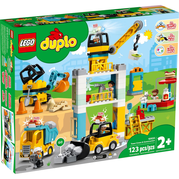 LEGO DUPLO Tower Crane & Construction 10933 canada ontario