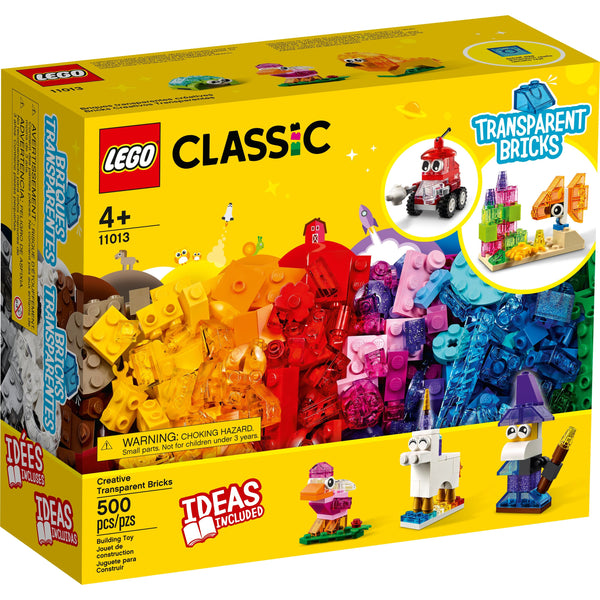 LEGO Classic Creative Transparent Bricks 11013 canada ontario