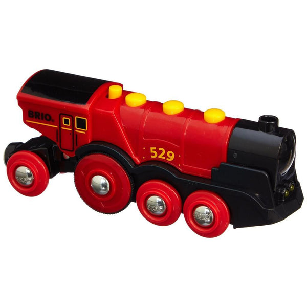 Brio Battery Operated Mighty Red Action Locomotive 33592 canada ontario