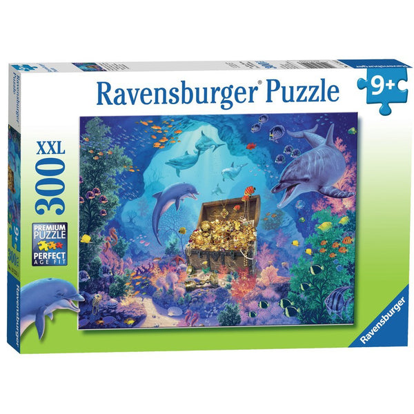 Ravensburger 300 Piece Puzzle Deep Sea Treasure dolphin pirate ontario canada kingston toronto ottawa