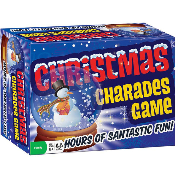 Christmas Charades Game outset media