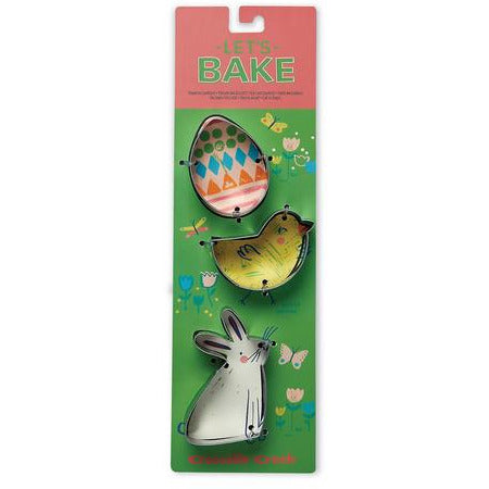 Crocodile Creek Cookie Cutter Set Easter