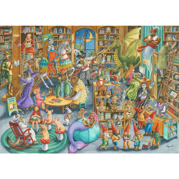 Ravensburger 1000 Piece Puzzle Midnight at the Library 16455 canada ontario