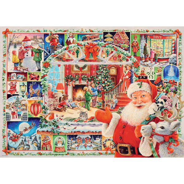 Ravensburger 1000 Piece Puzzle Christmas is Coming canada ontario 16511 limited edition 24th