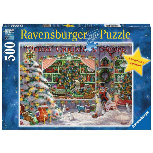 Ravensburger 500 Piece Puzzle The Christmas Shop 16534 canada ontario