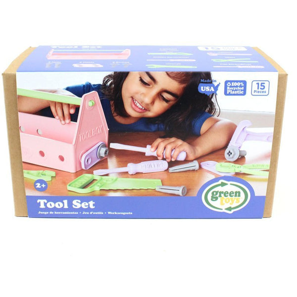 Green Toys Tool Set Pink canada ontario