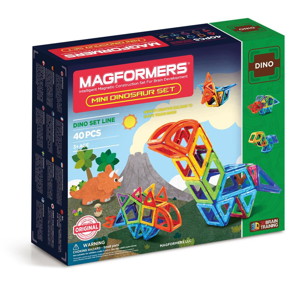 Magformers Dinosaur Set 40 Pieces