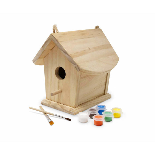 Kinderfeets Natural Birdhouse