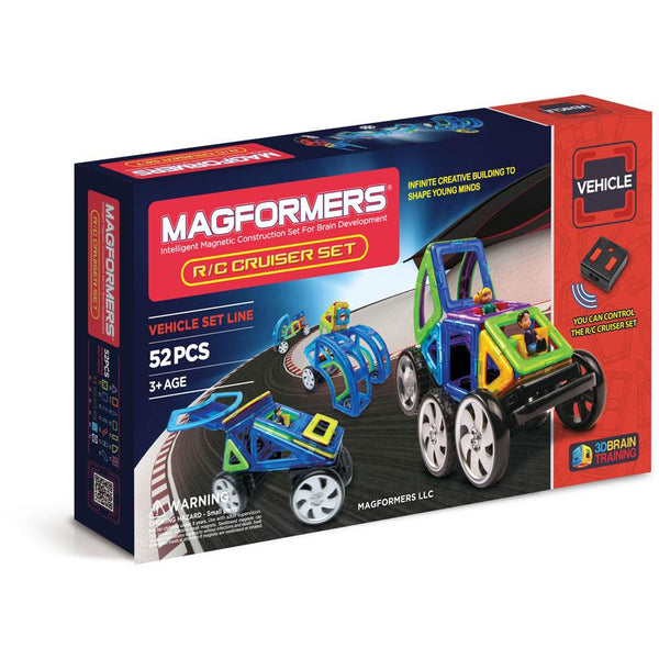 Magformers Remote Control Cruiser 52 Piece Set
