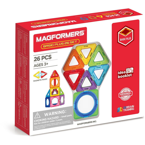 Magformers Basic Plus 26 Piece Set canada ontario magnets