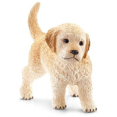 Schleich Farm World Golden Retriever Puppy 16396