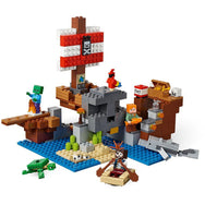LEGO Minecraft The Pirate Ship Adventure 21152 canada ontario