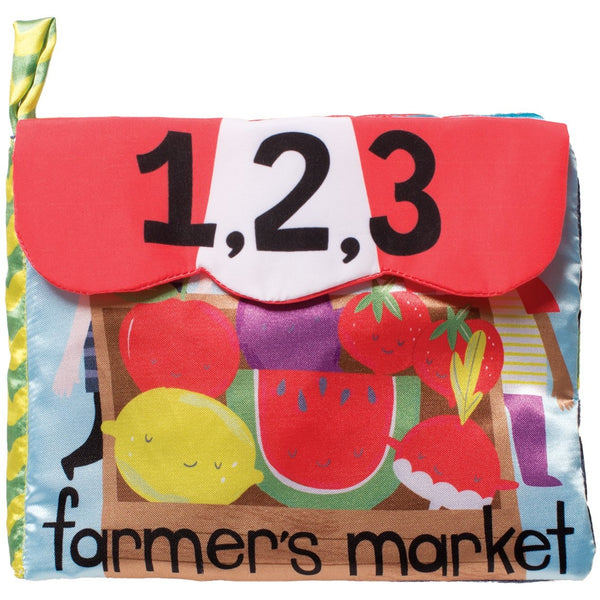 Manhattan Toys Farmer's Market Counting Plush Book
