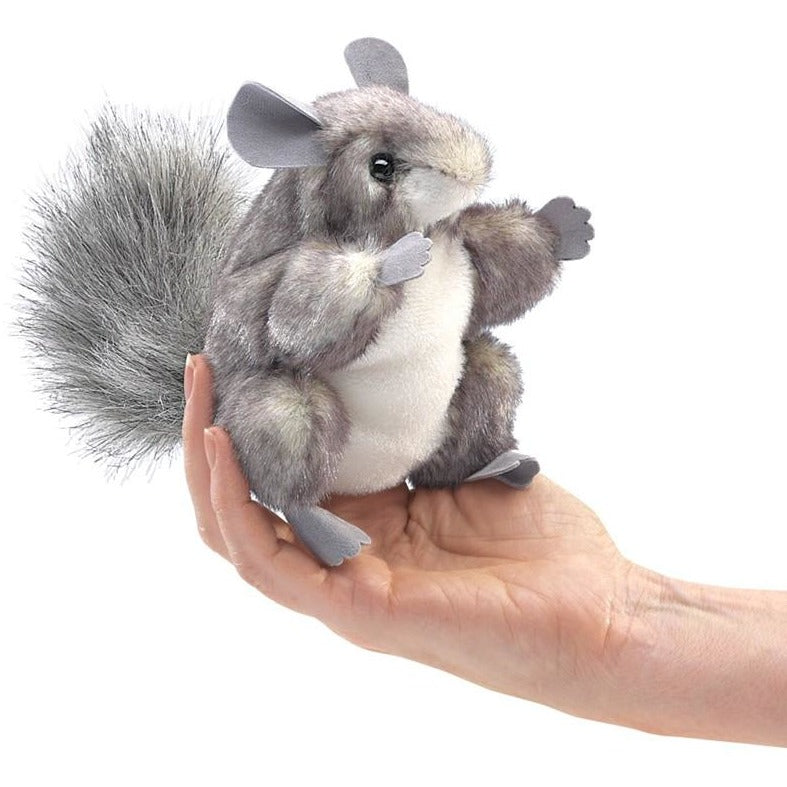 Folkmanis Chinchilla Finger Puppet