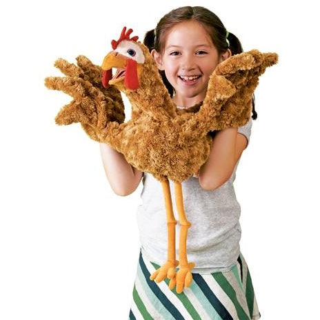 Folkmanis Chicken Puppet Demo