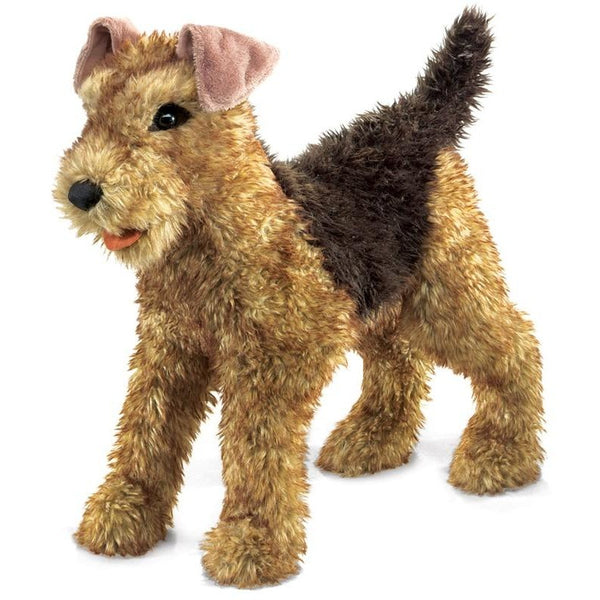 Folkmanis Airedale Terrier Puppet