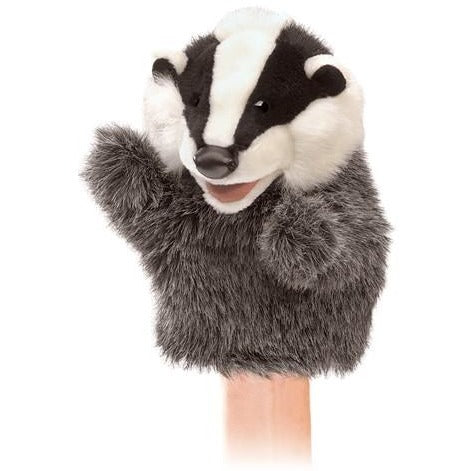 Folkmanis Little Badger Puppet