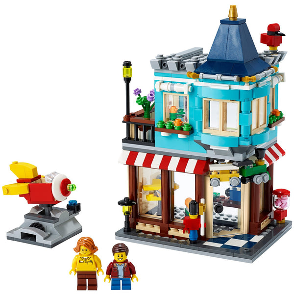 LEGO Creator Townhouse Toy Store 31105 canada ontario 3 in 1 build playset