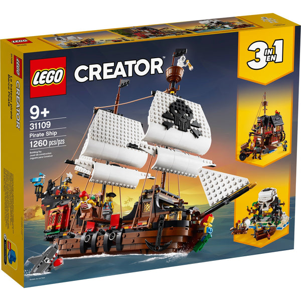 LEGO Creator Pirate Ship 31109 canada ontario 3 in 1