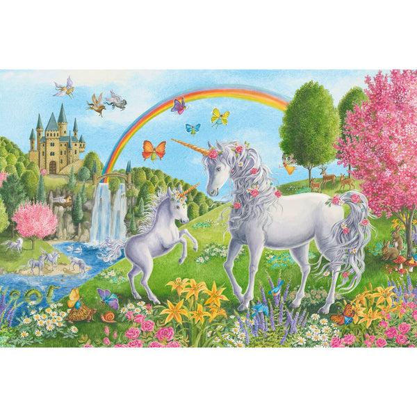 Ravensburger Floor Puzzle 24 Piece Prancing Unicorns 03043 canada ontario kid children jigsaw