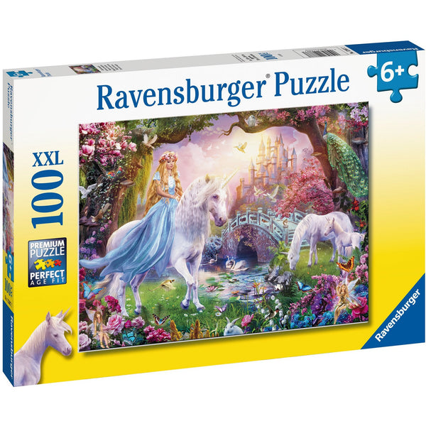 Ravensburger 100 XXL Piece Puzzle Magical Unicorns 12887 canada ontario children kid jigsaw